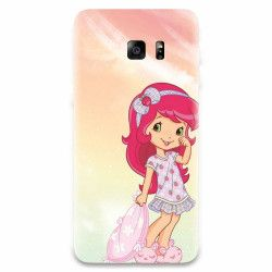 Husa silicon pentru Samsung Galaxy S7 Sweet Girl