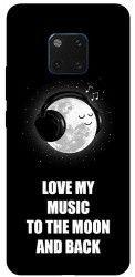 Husa Silicon Soft Upzz Print Huawei Mate 20 Pro Model Music Huse Telefoane
