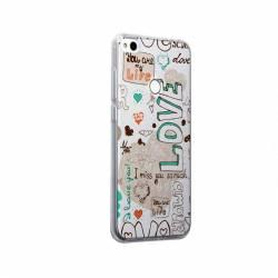 Husa Silicon Transparent Slim I Love You Xiaomi Redmi Note 5A Prime Huse Telefoane