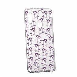 Husa Silicon Transparent Slim Unicorn Xiaomi Mi8 Huse Telefoane