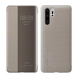 Husa Smart Case Flip Originala Huawei P30 Pro Brown