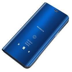 Husa Tip Carte Mirror Clearview Huawei Mate 20 Pro Albastru Huse Telefoane