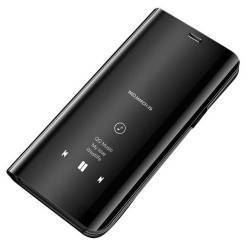 Husa Tip Carte Mirror Clearview Huawei P20 Pro Negru Huse Telefoane