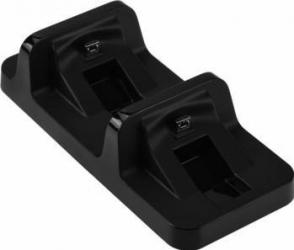 Incarcator Dobe Dual Charging Dock pentru Wireless Controller PlayStation PS4 / SLIM / PRO Negru