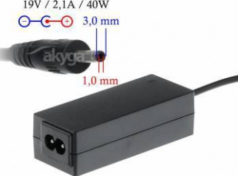Incarcator Laptop Akyga AK-ND-22 19V 2.1A 40W Negru Acumulatori Incarcatoare Laptop