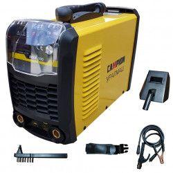 Invertor sudura CAMPION LV 300 Profi 300 yellow electrod 1.6 - 5mm Clesti + Ciocanel + Masca de