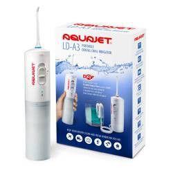 Irigator bucal Little Doctor Aquajet LD A3 pentru adulti profesional 1500 impulsurimin 2 duze alb