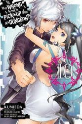 Is It Wrong to Try to Pick Up Girls in a Dungeon Vol. 10 Manga Carti