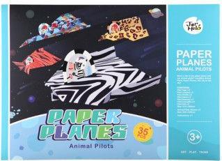 Joc creativ origami creeaza avioane JarMelo