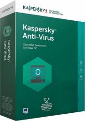 Kaspersky Anti-Virus 3PC 1An Licenta Reinnoire Box Antivirus