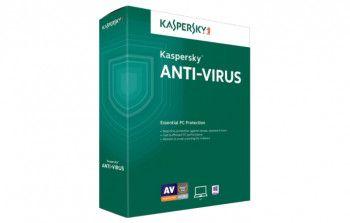 Kaspersky Antivirus - Noua - 1 An - 3 Utilizatori - Licenta electronica