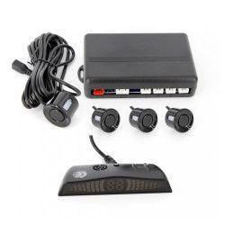 Kit 4 senzori de parcare Carguard cu display LED Alarme auto si Senzori de parcare