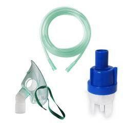 Kit accesorii universale RedLine RDA007 pentru aparate aerosoli cu compresor masca medie rotativa furtun 2 m pahar nebul Cantare, termometre si aerosoli