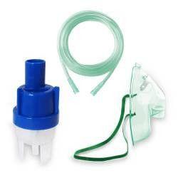 Kit accesorii universale RedLine RDA008 pentru aparate de aerosoli cu compresor masca adulti furtun 2 m kit de nebulizar Cantare, termometre si aerosoli