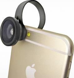 Kit Lentile Blautel 3 in 1 Macro Fish Eye Wide Gimbal, Selfie Stick si lentile telefon