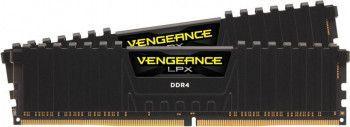 Kit Memorie Corsair Vengeance LPX Black 16GB 2x8GB DDR4 3200MHz CL16 Dual Channel