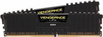 Kit Memorie Corsair Vengeance LPX Black 16GB 2x8GB DDR4 3000MHz CL16 Dual Channel Memorii