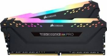 Kit Memorie Corsair Vengeance RGB PRO 16GB 2x8GB DDR4 2666MHz CL16 Dual Channel Memorii