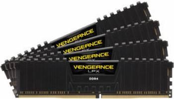 pret preturi Kit Memorie Corsair Vengeance LPX Black Heat 64GB 4x16GB DDR4 3000MHz 16 CL Quad Channel