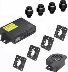 Kit Senzori De Parcare Auto Meta Active Park 4 Fata + 4 Spate + Can Bus Utility, Montanj inclus Alarme auto si Senzori de parcare