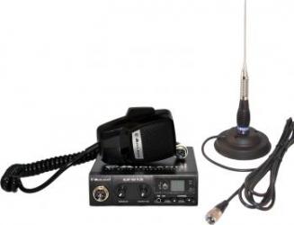 Kit statie radio auto Midland Alan 100 si antena PNI ML100