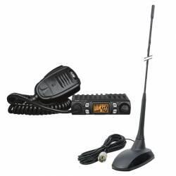 Kit statie radio CB CRT One + Antena PNI Extra 48