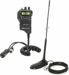 Kit Statie radio CB Midland Alan 52 DS + Antena PNI Extra 45 cu magnet