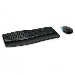 Kit Tastatura + Mouse Microsoft Sculpt Comfort Desktop Wireless Negru Tastaturi