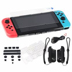 Kit Set de protectie DOBE 6 in 1 pentru Nintendo Switch