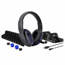 Kit Set gaming DOBE 5 in 1 pentru Playstation PS4 Slim Pro