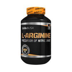 L-Arginina Biotech USA L-Arginine 90 capsule Vitamine si Suplimente nutritive