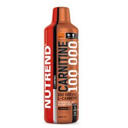 L-carnitina NUTREND CARNITINE 100000 1 litru aroma portocale Vitamine si Suplimente nutritive