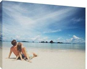 La plaja 2 - Tablou canvas - 52x70 cm Tablouri