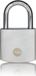 Lacat Yale Y120B/40/125/1 din alamă cu finisaj cromat 40mm