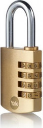 Lacat Yale Y150B/40/130/1 din alamă cu cifru 40mm