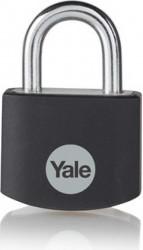 Lacat Yale YE3B/32/116/1/BK din aluminiu diverse culori 32mm Negru