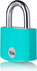 Lacat Yale YE3B321161TE din aluminiu diverse culori 32mm Turcoaz