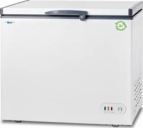 Lada frigorifica LDK BD 300 Clasa F Display LED Capacitate 290 L Alb Lazi si congelatoare