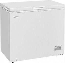 Lada frigorifica Samus LS221A+ 198 L Clasa F Alb Lazi si congelatoare