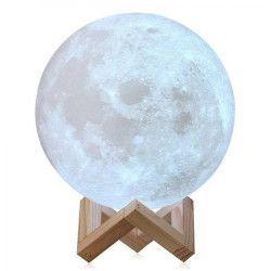 Lampa veghe Luna Moon Lamp 15 cm imprimata 3D reincarcabila Cadouri