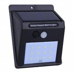 Lampa cu LED incarcare solara si senzor de miscare 12 x LED Corpuri de iluminat