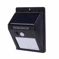 Lampa cu LED incarcare solara si senzor de miscare 30 x LED Corpuri de iluminat