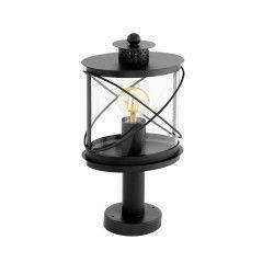 Lampadar Exterior HILBURN 94864 E27 60W Otel zincat / Negru L 200 B 135 H 410 Base Ø 110 Corpuri de iluminat