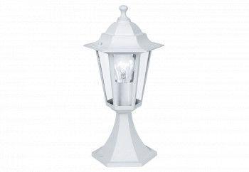 Lampadar Exterior LATERNA 5 22466 E27 60W Aluminiu turnat / Alb H 385 Ø 195 Base Ø 170