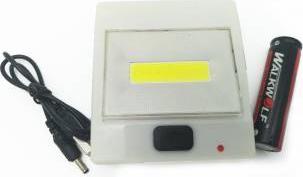 Lanterna Lampa de Veghe COB cu LED 5W lumina Alba Rece cu acumulator 3.7V Alb Corpuri de iluminat