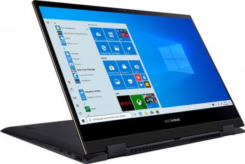 UltraBook 2in1 ASUS ZenBook Flip 13 OLED UX371EA Intel Core (11th Gen) i7-1165G7 512GB SSD 16GB Iris Xe 4K Touch Win10 Pro T. il. Black