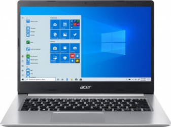 Laptop Acer Aspire 5 A514-54 Intel Core (11th Gen) i5-1135G7 256GB SSD 8GB Intel Iris Xe FullHD Win10 Pro T. il. FPR Pure Silver Laptop laptopuri