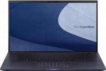 Ultrabook ASUS ExpertBook 14 B9400CEA Intel Core (11th Gen) i7-1165G7 2TB SSD 32GB Iris Xe FullHD Win10 Pro Tast. ilum. Black Laptop laptopuri
