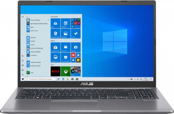 Laptop ASUS X515MA Intel Celeron N4020 256GB SSD 4GB HD Win10 Slate Grey Laptop laptopuri