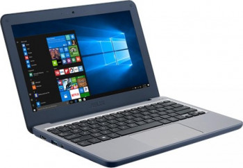 Laptop ASUS W202 Intel Celeron N3350 64GB eMMC 4GB HD Win10 Pro FPR Dark Blue Laptop laptopuri